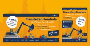 Druckgrafik Pirna Baustellentombola PhotokDE Mario Kegel