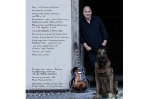 Marti Hall Platinum Blues CD Cover Innen Bild Mario Kegel Photok Photografie & Grafik Design